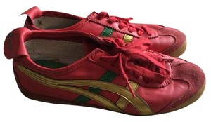Asics Red/Gold Athletic