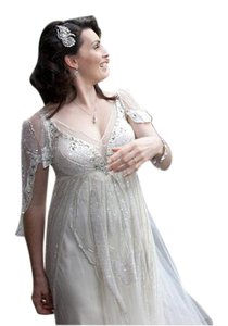 Jenny Packham Jenny Packham Papillon (altered To Add Sleeves) Wedding Dress