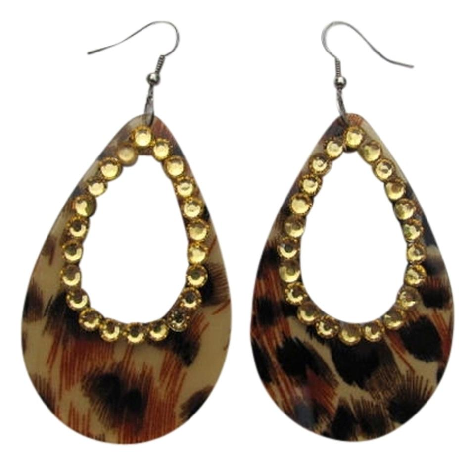 Other New Animal Print Earrings