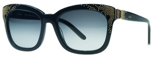 Chloé Chloe Navy Blue Cateye Sunglasses