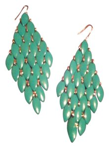 Other Leaf-drip earrings