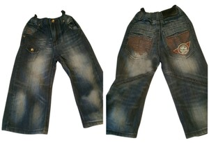 Rocawear Relaxed Fit Jeans-Distressed