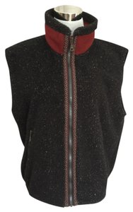Other Fleece Vest Zip Vest Layering Jacket