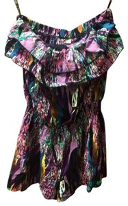 FCNY Summer Shorts Colorful Ruffle Dress