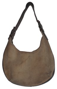 Banana Republic Suede Handbag Hobo Bag