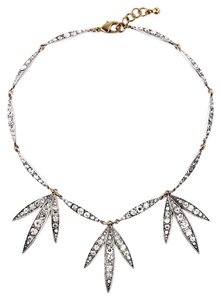 Private Collection Crystal Leaf Statement Necklace