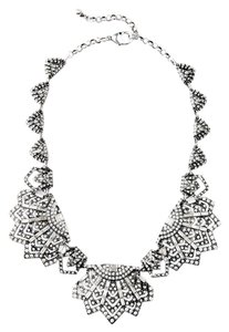 Art Deco Crystal Statement Necklace