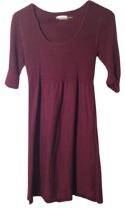 Calvin Klein short dress Purple Sweater on Tradesy