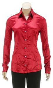 Dolce&Gabbana Button Down Shirt Red