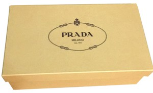 Prada brandy/platino (brown/gold) Sandals