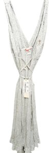 Miss Sixty short dress Light Grey Flirty Beaded Wrap on Tradesy