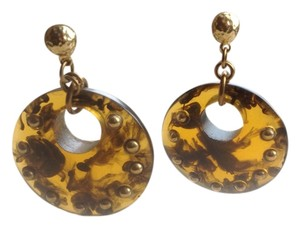 Barneys New York Tortoise post earring