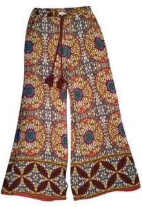 Love Tree Wide Leg Pants Tribal