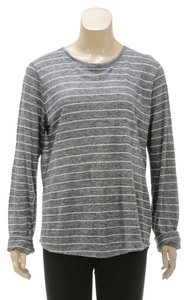 Vince Top Gray/White