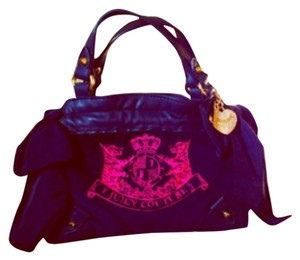 Juicy Couture Tote in Blue Black