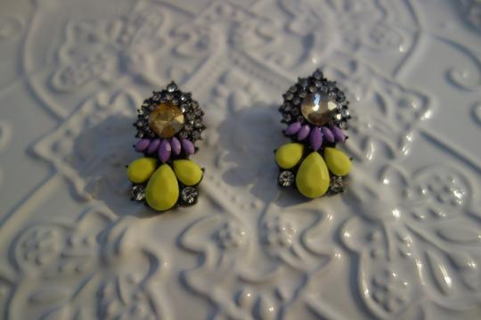 Other Yellow Neon Statement Earrings