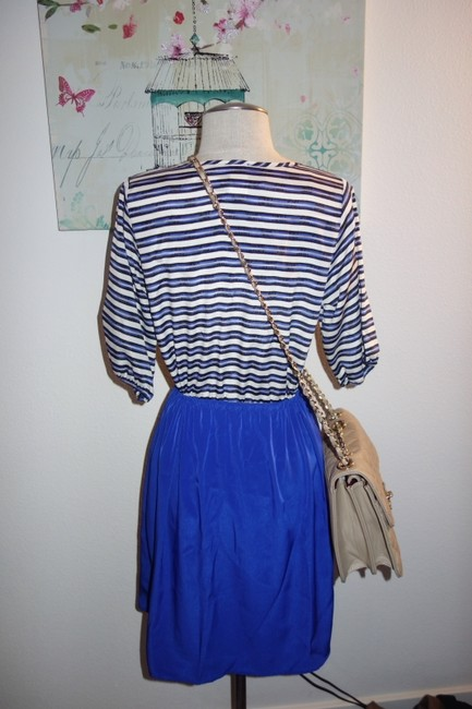 Francesca's short dress Blue Summer Anyday on Tradesy