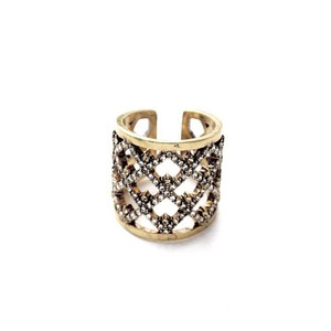 Other X Ring Pave Stone