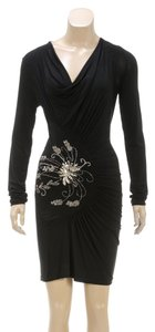 Roberto Cavalli short dress Black on Tradesy
