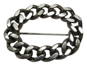 OTHER WOVEN CHAIN BROOCH