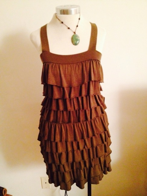 Alice + Olivia short dress Hunter green on Tradesy