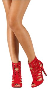 Liliana Heel Heels Sandal Red Pumps