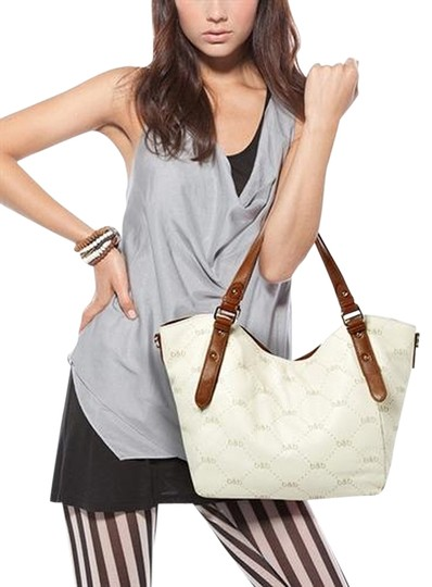 Preload https://item2.tradesy.com/images/abbey-white-with-b-and-b-labels-cowhide-leather-shoulder-bag-763106-0-0.jpg?width=440&height=440