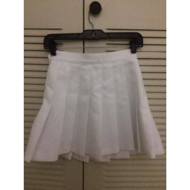 American Apparel Tennis Vintage Tennis Mini Skirt White