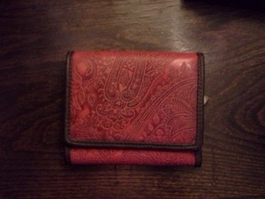 Relic distressed paisley wallet