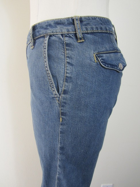 Christopher Blue Straight Leg Jeans-Medium Wash