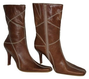 BP shoes Brazilian Leather Leather brown Boots