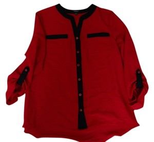 Element Top Red w/black trim