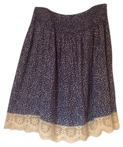 Sundance Skirt Blue/ivory