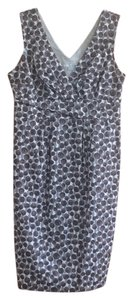 Boden short dress Gray print on Tradesy
