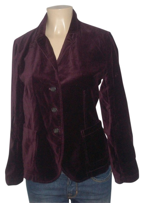 Preload https://img-static.tradesy.com/item/7633516/jcrew-berry-new-without-tags-cotton-unlined-button-down-blazer-size-12-l-0-1-650-650.jpg