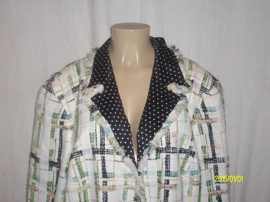 19bdb12623fb9d Dana Buchman New With Tags Fully Lined Hook eye Front Closure Size 24 Multi  Blazer