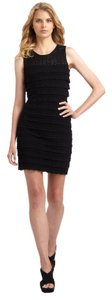 Cynthia Steffe Tiered Crochet Flirty Dress