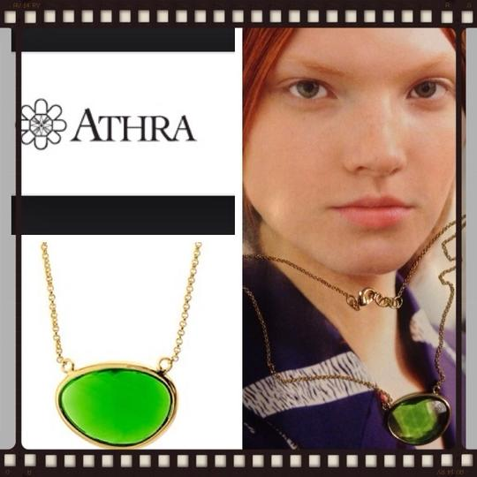 athra 14k Plated Gold Necklace