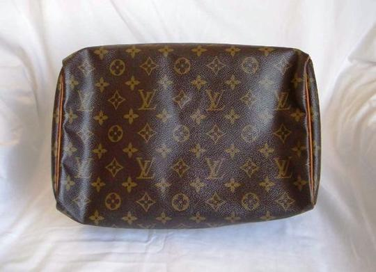 Louis Vuitton Speedy Speedy 30 Monogram Designer Women's Purse Satchel in brown