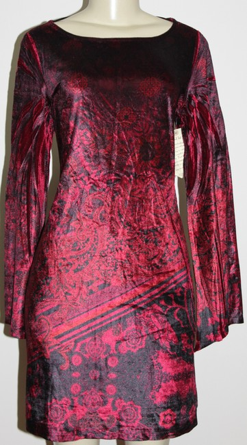 One World short dress Burgundy on Tradesy