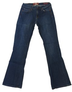 Lucky Brand Sophia Medium Wash Boot Cut Jeans-Dark Rinse