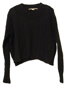Chelsea & Violet Knit Cotton Croped Sweater