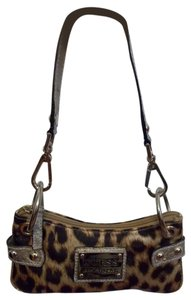 Guess Wristlet in Cheetah Print