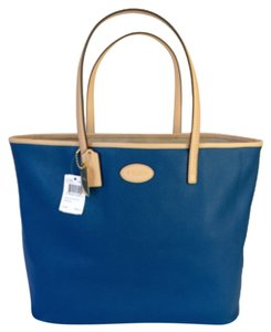 Coach Blue Metro Tote in Bright Mineral