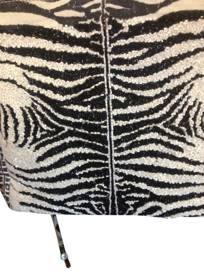 Roberto Cavalli Tote in Black/White