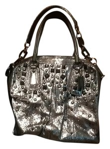 Coach Tote in Charcoal sparkle