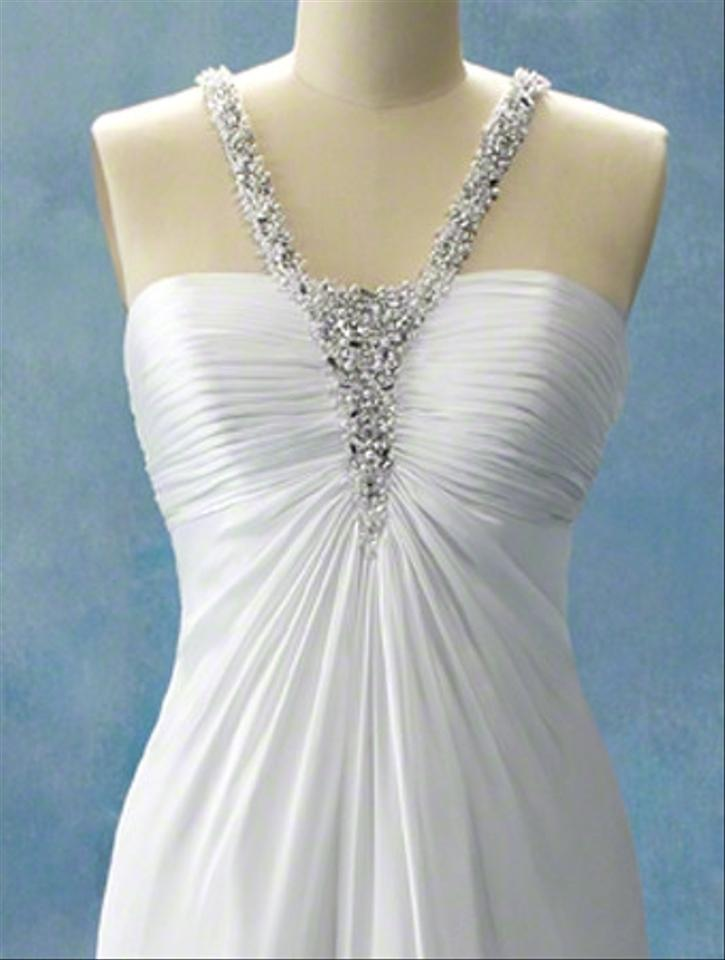 Alfred angelo jasmine 202 disney fairy tale collection for Princess jasmine wedding dress