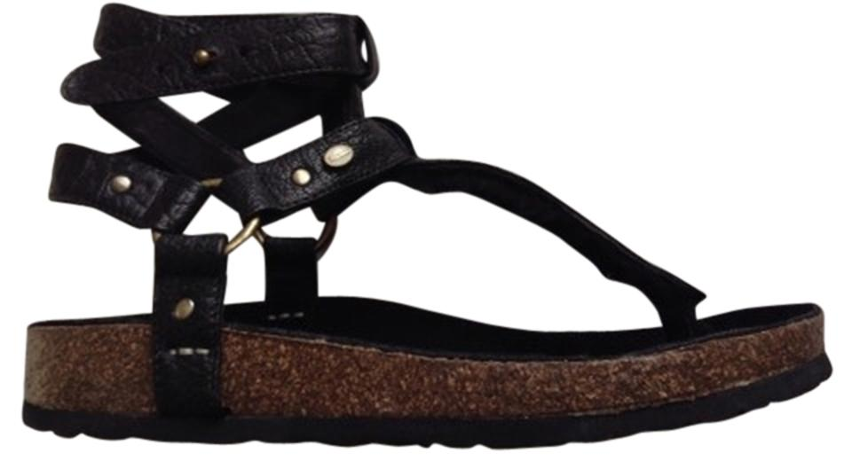 050e772977f Australia Luxe Collective Chica Genuine Shearling Lined Sandal Shearling  Sandal Black Platforms Image 0 ...