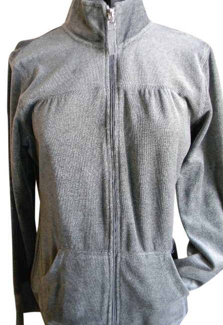 Preload https://item4.tradesy.com/images/charcoal-grey-athletic-jacket-activewear-top-size-12-l-32-33-763733-0-0.jpg?width=400&height=650