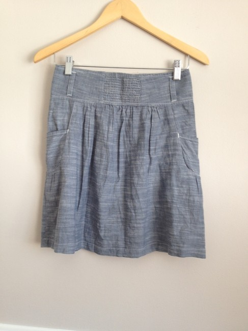 Mountain Khakis Skirt Chambray